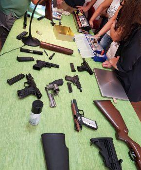 Corso di balistica forense di I livello, ricostruzione della scena del crimine