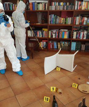 Corso di balistica forense di I livello, ricostruzione della scena del crimine11