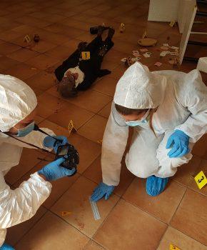 Corso di balistica forense di I livello, ricostruzione della scena del crimine12