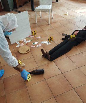 Corso di balistica forense di I livello, ricostruzione della scena del crimine14