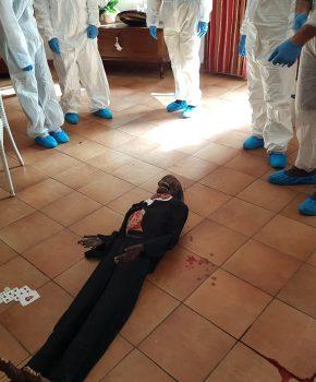 Corso di balistica forense di I livello, ricostruzione della scena del crimine15
